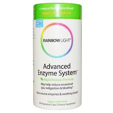 Rainbow Light Advanced Enzyme System Rapid Release Formula 180