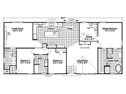 the pecan valley iii ml30683p manufactured home floor plan or