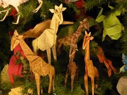 Giraffe Christmas Tree Ornaments by Christmas Tree The Worley Gig