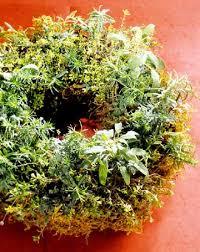 herb wreath make a fresh herb wreath