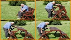 brilliant best 25 folding picnic table plans ideas on pinterest