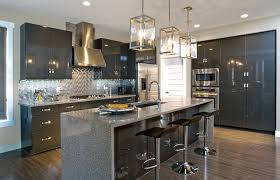 Kitchen Cabinet Edmonton High Gloss Simplicity Contemporary Kitchen Edmonton By