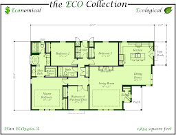 Single Wide Mobile Home Floor Plans Eco Series Triple Wide Homes Karsten El Dorado