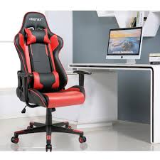 Gaming Chair Leather Staples Stanmore Top Grain Leather Executive High Back Chair Black