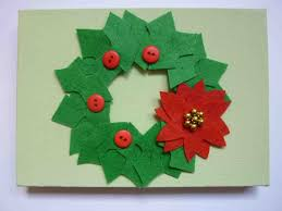 jumbleberries christmas countdown crafts holly wreath canvas