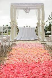 wedding runner 50 wedding aisle decoration ideas deer pearl flowers