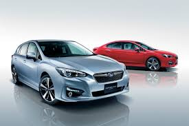 2017 subaru impreza sedan blue 2017 subaru impreza sport and g4 sedan detailed before japan launch