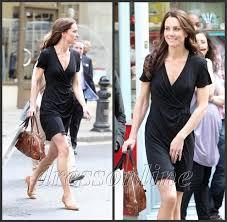 kate middleton casual kt007 kate middleton casual v neck black wrap dress