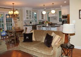 kitchen open floor plan kitchen living room dining small