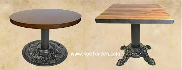 Coffee Table Bases Cast Iron And Steel Antique Reproduction Style Coffee