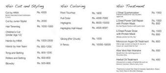 bridal hair prices salon services complete details saloni health beauty