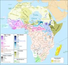 map in language languages of africa