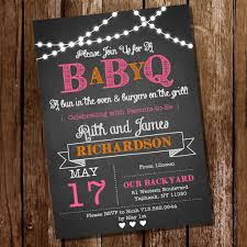 baby shower chalkboard chalkboard baby q baby shower for a girl bbq baby shower