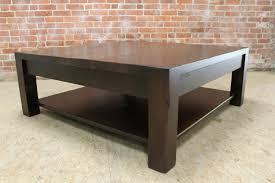 espresso square coffee table square parsons coffee table in espresso ecustomfinishes