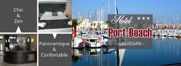 hôtel port gruissan home