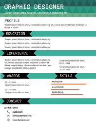 Top 10 Best Resume Formats by Download Best Resume Templates Haadyaooverbayresort Com