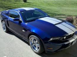 white mustang blue stripes post pics of your 2010 2012 kona blue pony with white stripes