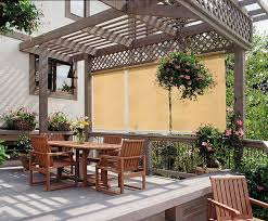 Blinds For Patio by Outdoor Blinds Backyard Blinds