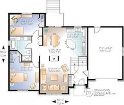 Family Room Floor Plans House Plan W3418 V1 Detail From Drummondhouseplans Com