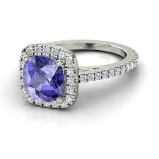 tanzanite wedding rings large engagement rings brides