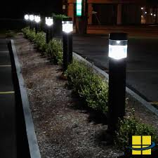Paradise Solar Lights Costco by Commercial Outdoor Bollard Lighting Bollard Solar Pathway Lights