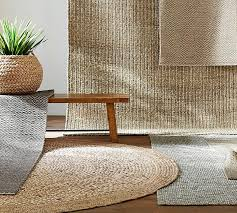 Natural Fiber Rug Runners Chunky Wool U0026 Jute Rug Natural Pottery Barn