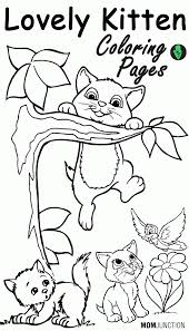 kitten coloring pages online cats u0026 kittens