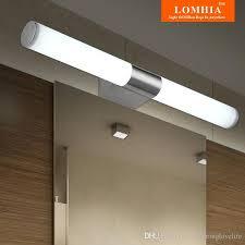 Bathroom Wall Fixtures 2018 Modern Led Stainless Steel Bathroom Wall Lights Makeup L