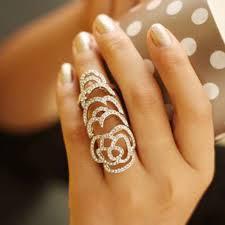 fashion long rings images Meetcute blink fashion party long finger rings for women men rose jpg