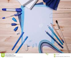 drawing materials stock photo image of learn document 50772434