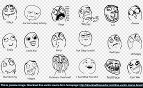 Meme Face Happy - meme faces free vector 123freevectors