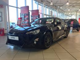 cars toyota black black toyota gt86 aero ron brooks group