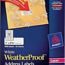 avery template 5160 free avery white weatherproof address labels 5520 avery online