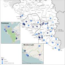 Liberia Africa Map by Ebola Situation Report 26 November 2014 Ebola