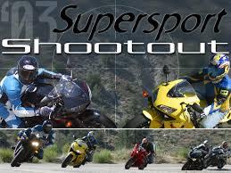 honda sports bikes 600cc 2003 supersport shootout motorcycle usa