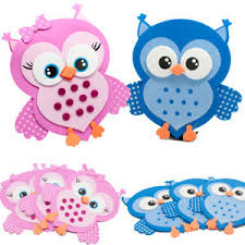 baby shower owls 10 owls baby shower favors foam decorations buo bird blue pink