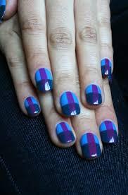 66 best scottish nails images on pinterest scotch plaid nails