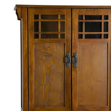 Mission Style Bathroom Vanity by Stickley Arts Crafts Mission Style Oak Bath Cabinet Storage
