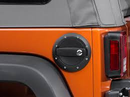 jeep wrangler lock barricade wrangler locking fuel door textured black j100725 07