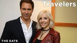 the travelers images Eric mccormack and mackenzie porter on 39 travelers 39 jpg