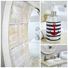 nautical bathroom decor ideas nod to nautical bathroom makeover reveal fox hollow cottage