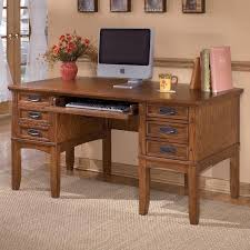 Mission Style Desks For Home Office Furniture Cross Island Mission Home Office Storage Leg Desk