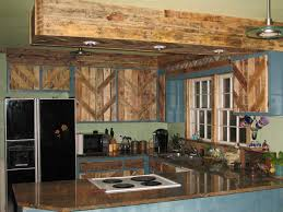 reclaimed kitchen cabinets pallets used to reface the cabinet