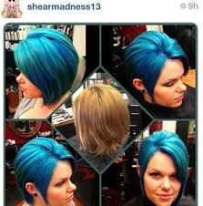 cut before dye hair pravana vivids blue and green cut and color how to career