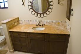 authentic durango dorado vanity countertop and backsplash intended