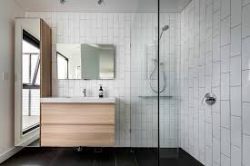 modern bathroom vanity cabinets with mirror and small modern wood