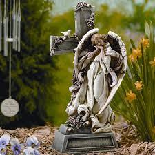 inc garden with cross statue reviews wayfair