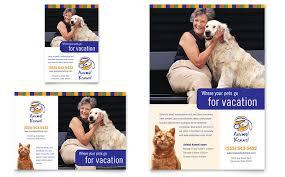 dog kennel u0026 pet day care flyer u0026 ad template word u0026 publisher