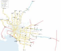 melbourne tram map proposed melbourne tram extensions