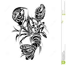 zodiac signs cancer tattoo design stock vector image 17534056
